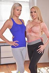 Amber Jayne & Ria Sunn
